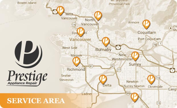 Vancouver service areas